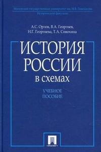 История России в схемах: Учеб. пособие
