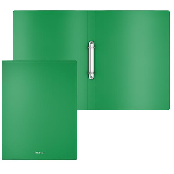 Папка с 2 кольцами 24мм EK Classic зеленый