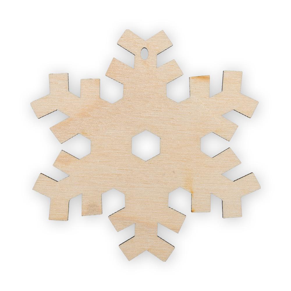 Заготовка НГ дерево Снежинка 8см