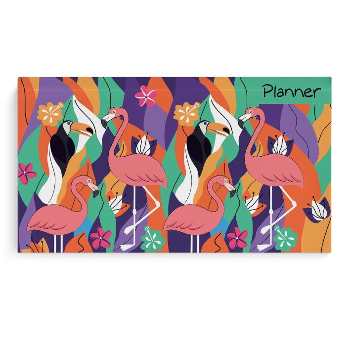 Планинг А6 Экзотические птицы