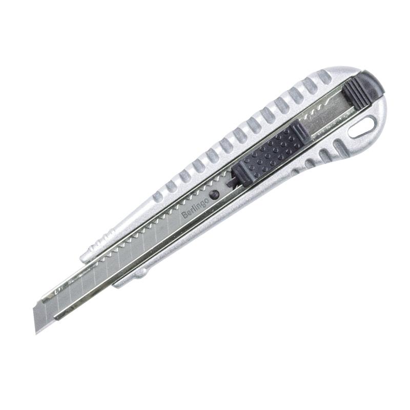 Нож 9мм Berlingo auto-lock метал корпус