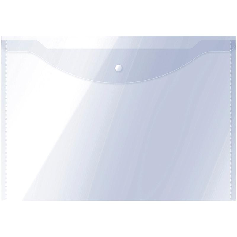 Папка-конверт А3 Office Space на кнопке прозр 150мкм