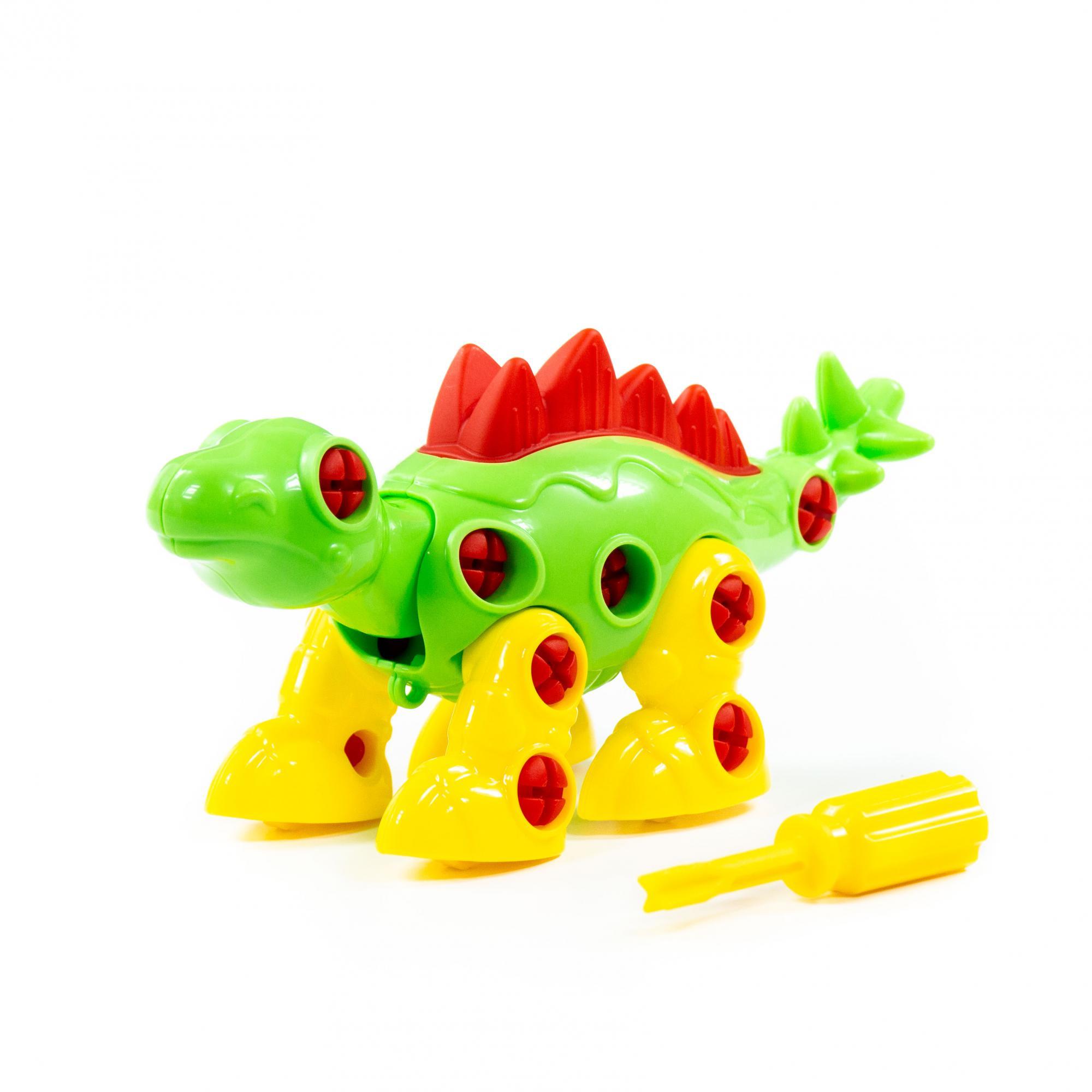 Конструктор Динозавр Стегозавр 30эл.