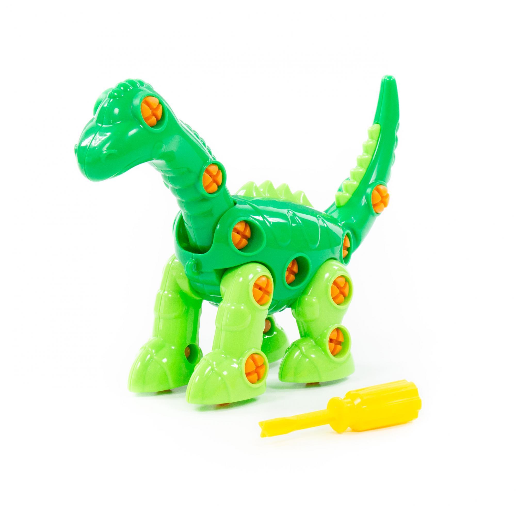 Конструктор Динозавр Диплодок 35эл.