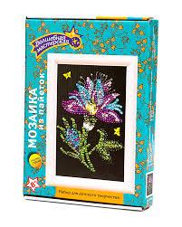 Мозаика из пайеток 18*26 Волшебный цветок