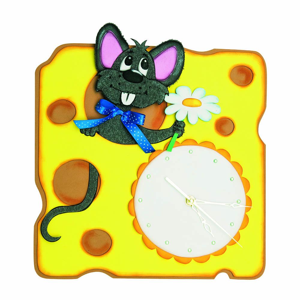 Творч Набор из фоамирана Часы Мышонок