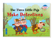 Три поросенка становятся детективами. The Three Little Pigs Make Detectives
