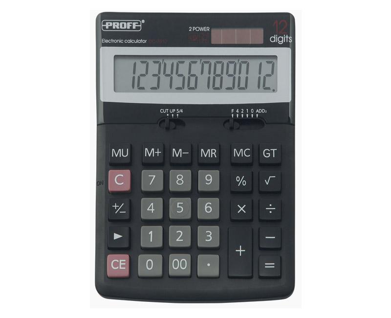Калькулятор 12 разр. Proff