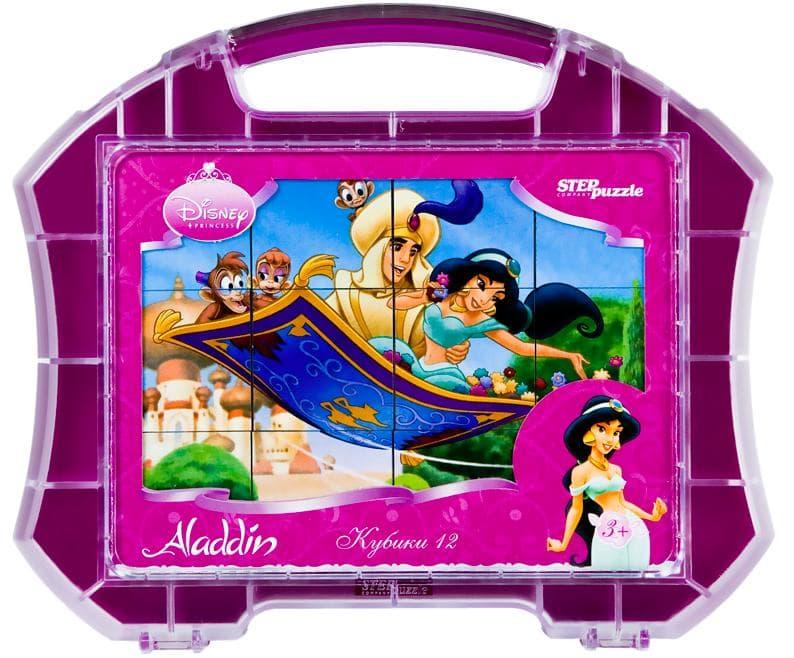 АКЦИЯ19 Кубики 12шт Step Aladdin