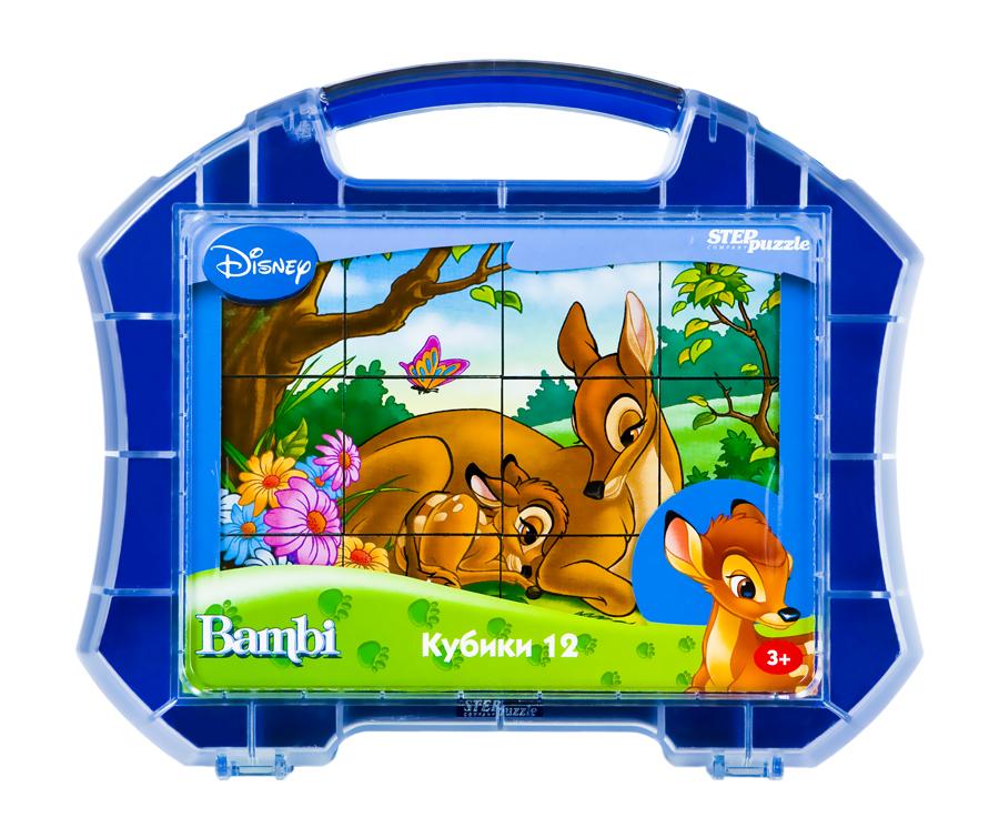 АКЦИЯ19 Кубики 12шт Step Bambi