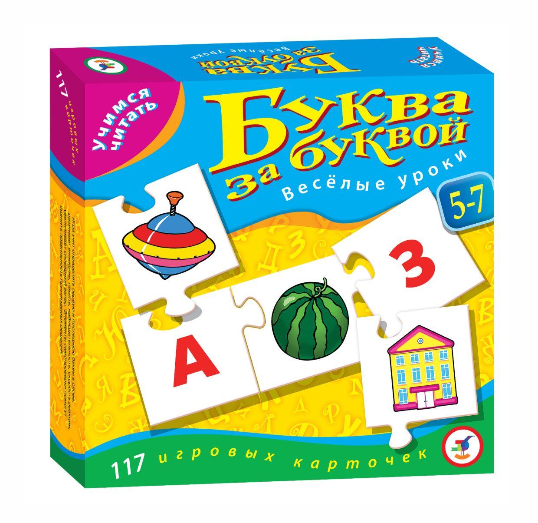 Развивающая Учимся читать Буква за буквой Веселые уроки