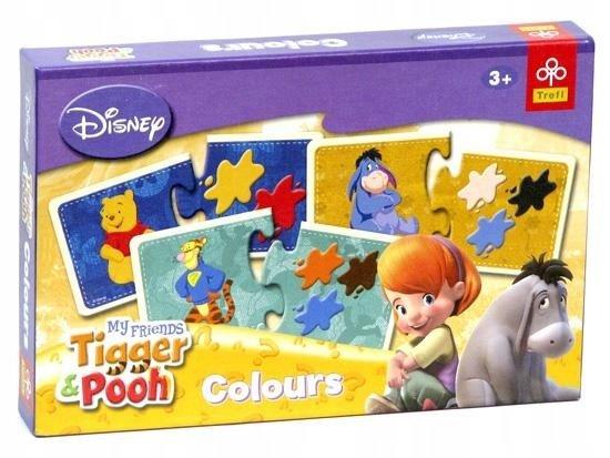 Настольная Trefl 00418 Disney Colours My Friends Tigger & Pooh