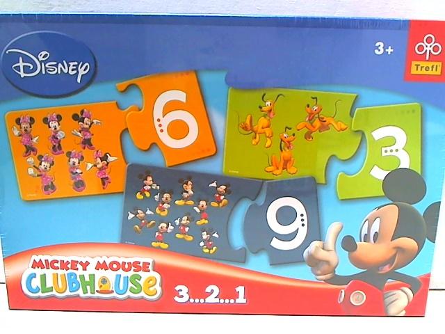 Настольная Trefl 00413 Disney 3... 2... 1... Mickey Mouse Clubhouse