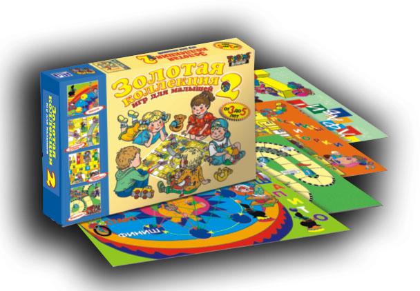Настольная игра Золотая коллекция настольных игр для малышей-2
