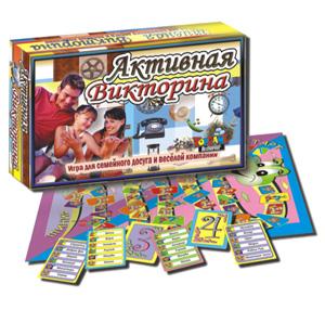 Настольная Активная Викторина: Игра для семейного досуга и веселой