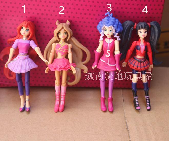 Игрушка новогодняя Эльф-кукла девочка (розовый костюм)