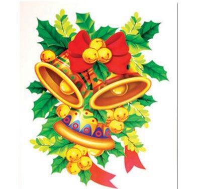 Оконное украшение Новогодняя ветвь