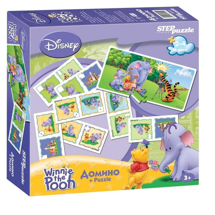 АКЦИЯ19 Домино + Puzzle Winnie the Pooh