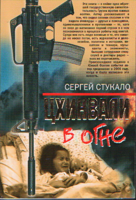 Цхинвали в огне: Роман