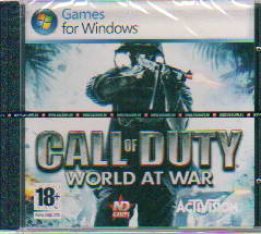 CD Call of Duty: World at war: 18+