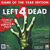 DVD Left 4 Dead Game of the Year Edition: 16+