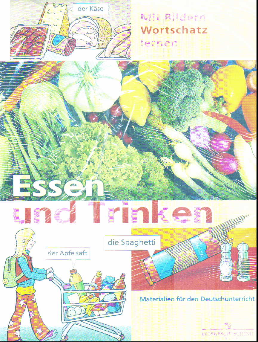 Немецкий язык. Продукты. Питание: Плакат наст. склад. с раздат. материалом