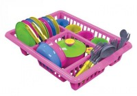 Набор посуды Кухонный №5 в ассорт. пласт