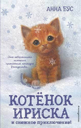 Котенок Ириска и снежное приключение!