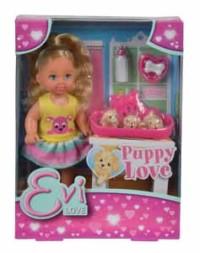 Кукла Еви 12 см с собачками