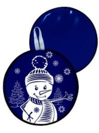 Ледянка 40,5см синяя (с принтом) мягкая