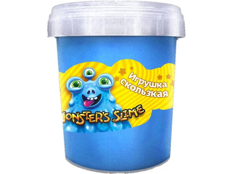 Слайм KiKi Monster's Slime ассорти 130мл