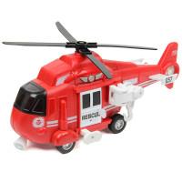 Вертолет Fire and rescque helicopter 1:16 св зв фрикц