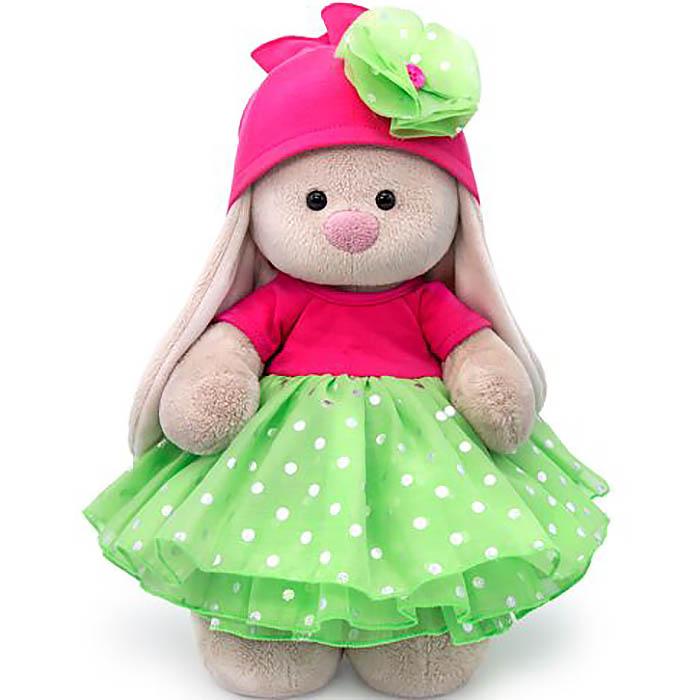 Мягконабивная BUDI BASA Зайка Ми в платье с пышной юбкой из органзы 25с