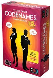 Настольная Codenames Кодовые имена ХХL