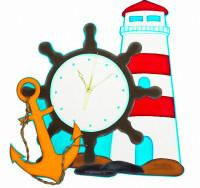 Набор из фоамирана Часы морские