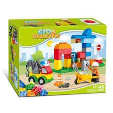Конструктор Kids home toys Строительные работы 45 дет. пласт
