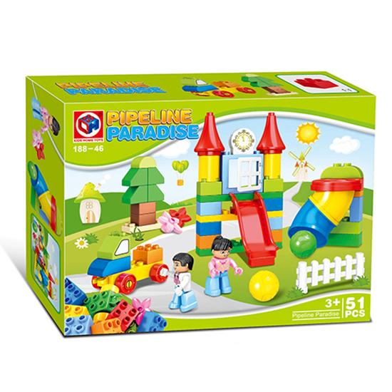 Конструктор Kids home toys Детская площадка 51 дет. пласт