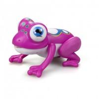 Интерактивная Лягушка Глупи розовая пластмас свет, звук