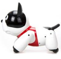 Робот Собака Дюк пласт свет звук, умная косточка