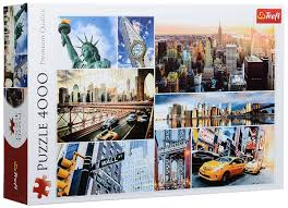 Пазл 4000 Trefl 45006 Нью-Йорк- коллаж