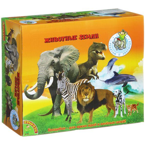 из ПВХ Животные джунглей 12 видов