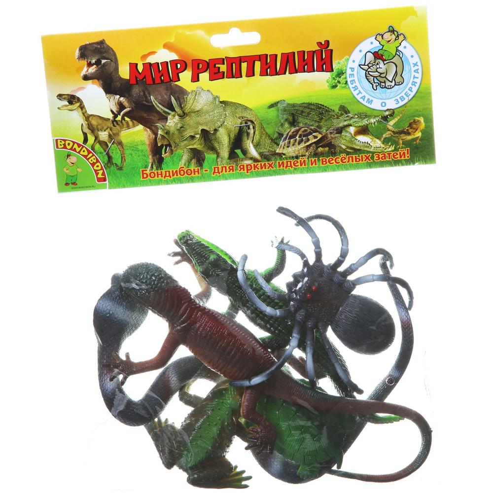 Набор Ребятам о Зверятах Рептилии 3,5-17 6 шт. пласт