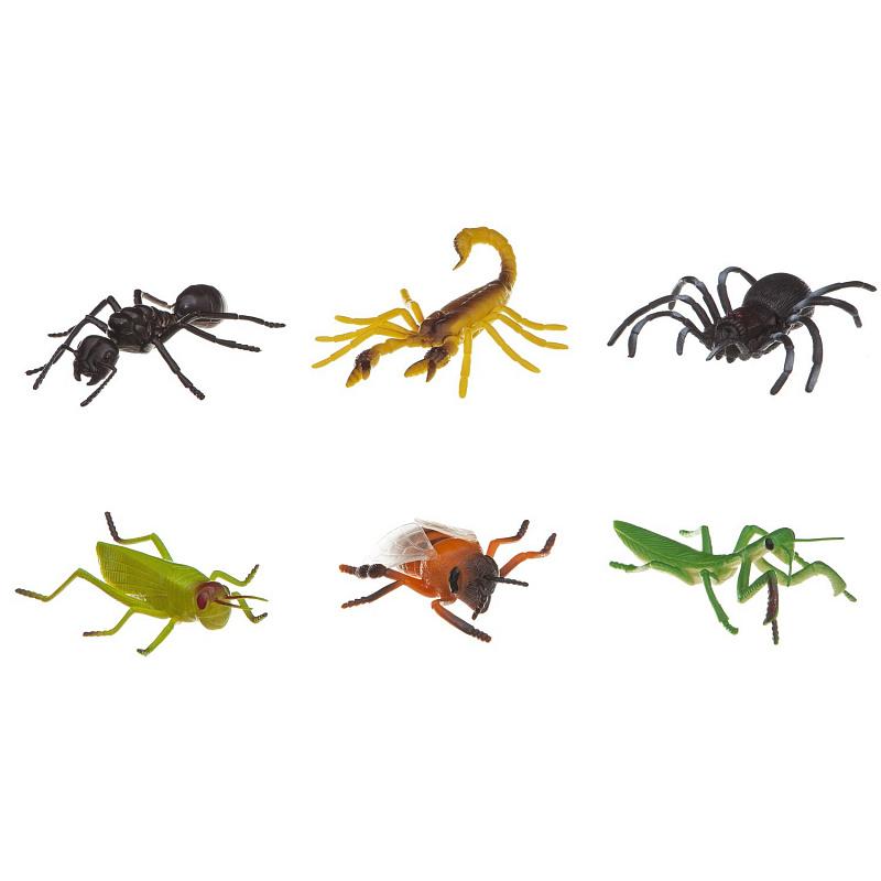 из ПВХ Насекомые 6 видов