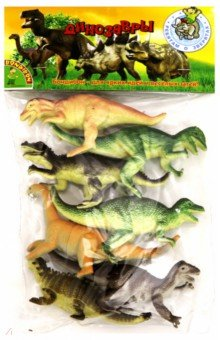 Набор Ребятам о Зверятах Динозавры, 5 7 шт. пласт