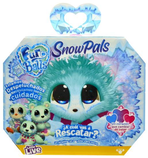 Пушистик-потеряшка Scruff-a-Luvs Снежные друзья