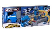 Набор Машина Полицейский грузовик + трек с 2-мя машин. и вертол