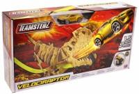 Набор Трек Динозавры - Раптор пласт, металл