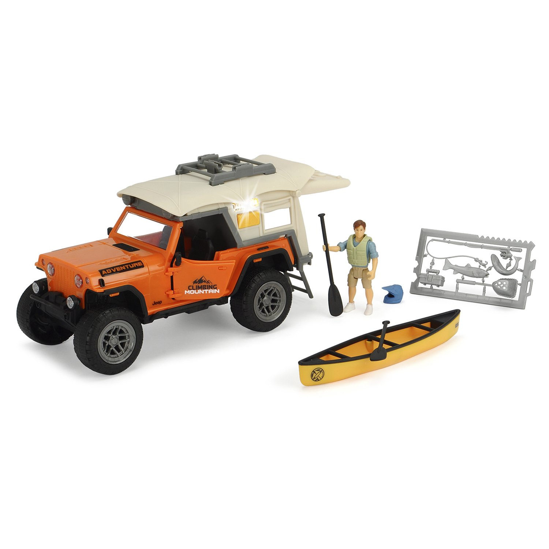 Набор туриста Jeepster Commando 22см свет звук (машина, фигурка, асксес