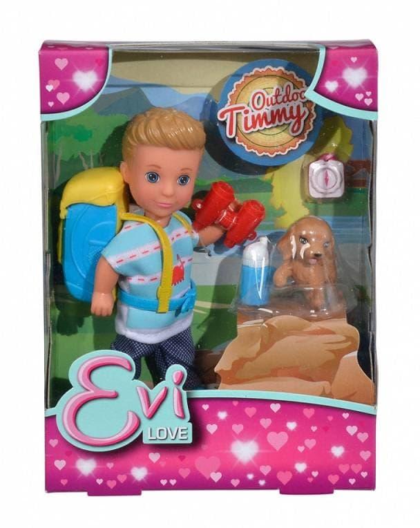 Кукла Тимми 12см с набором Поход