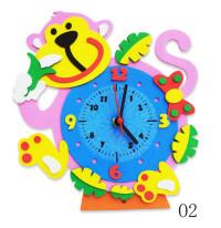 Творч Набор из фоамирана Часы Обезьянка